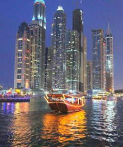 Dubai Marina Dhow cruise
