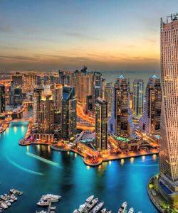 Dubai Marina view