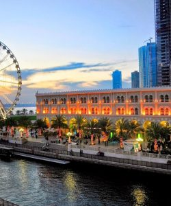 Sharjah Al Qasba tourist attraction 2