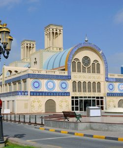 Sharjah-central-market tourist attraction 1