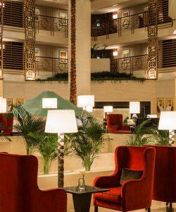 sheraton hotel lobby 5 star