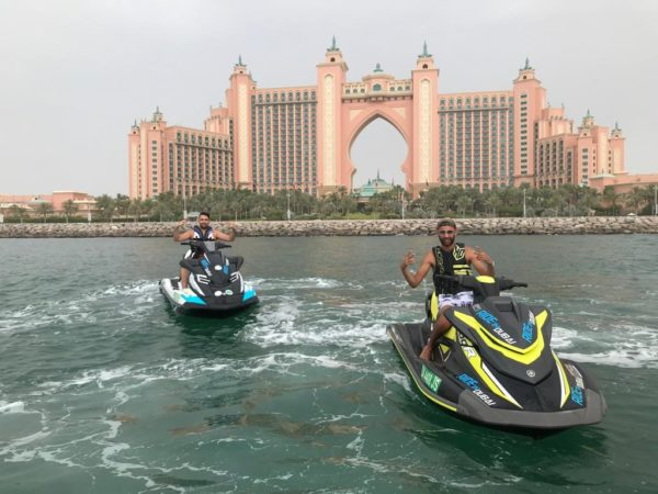 Palm Jumeirah Jet Ski Ride